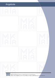 Angebote - MAKA Industrie-Service Gmbh