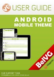 Android Mobile Theme User Guide - BelVG Magento Extensions Store