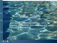 Water Quality Water Quality - IOOS Association
