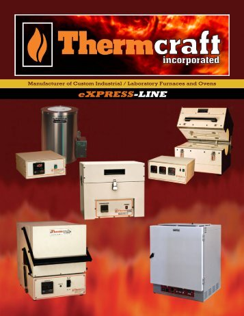 the eXPRESS-LINE Product Catalog - Thermcraft Inc.