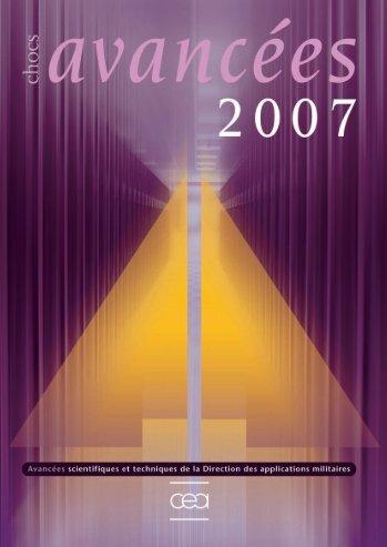 Chocs Avancées 2007 - Physique/Chimie - CEA