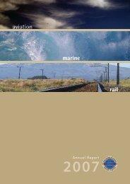 Entire Annual Report 2006 - Transport Accident Investigation ...