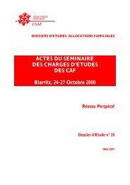 Dossier d'études n° 20 - Caf.fr