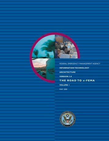 THE ROAD TO e-FEMA - Federal Emergency Management Agency