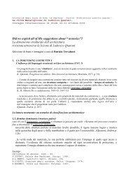 Scarica file .pdf - Sede di Architettura - Sapienza