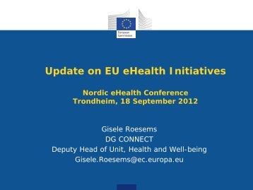 Update on EU eHealth Initiatives