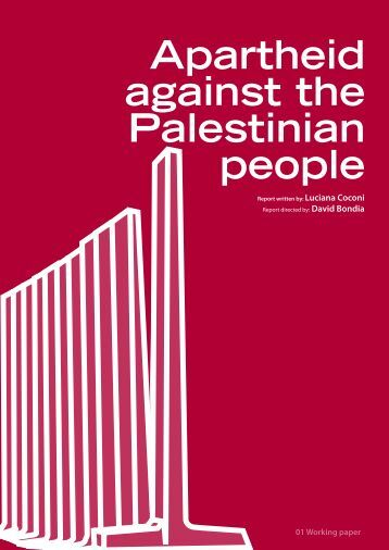 Apartheid against the Palestinian people - Nodo 50