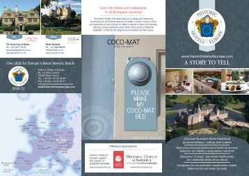 HHE booklet - Swiss Historic Hotels