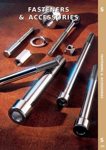 Fasteners leaflet - toolequip.ie