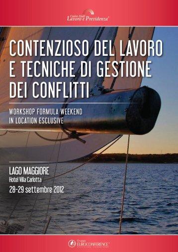 contenzioso del lavoro e tecniche di gestione dei conflitti