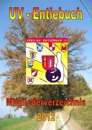 Mitgliederverzeichnis 2012 - Unterverband Entlebuch der SFKV