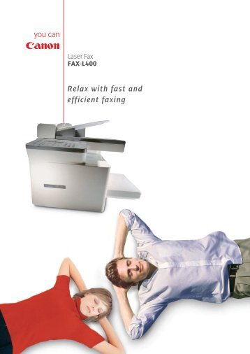 Bringing productive fax performance to your office
