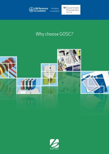 Why choose GOSC? - Government Procurement Service - Cabinet ...