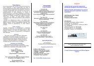 Programma - Azienda Ospedaliero-Universitaria Careggi