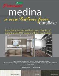 Medina Texture Brochure - Duraflake - Flakeboard