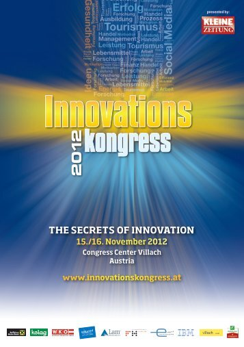2 kongress - Innovationskongress