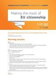 Making the most of EU citizenship - Erminia Mazzoni
