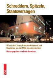 Schreddern, Spitzeln, Staatsversagen - VSA Verlag