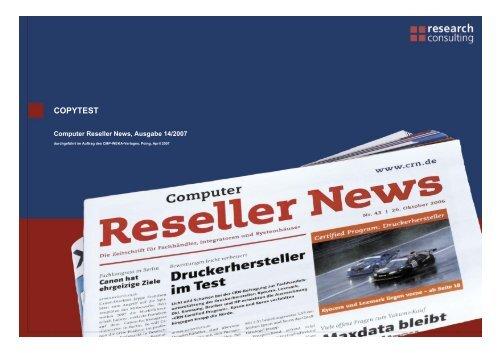 COPYTEST - CRN.de
