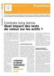 Contrats long terme Quel impact des tests de valeur sur ... - talkSpirit