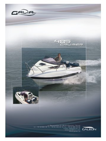Galia 485 Cabin - LH Marine ApS