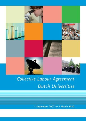 Collective Labour Agreement Dutch Universities