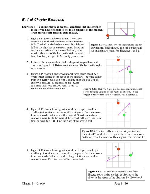 Chapter 8 Problems WebAssign