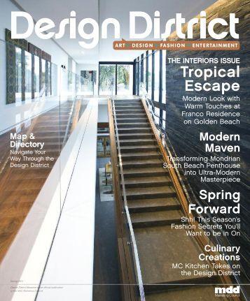 Tropical Escape - Miami Design District Magazine