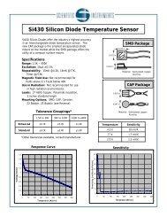 Si430 Silicon Diode Temperature Sensor