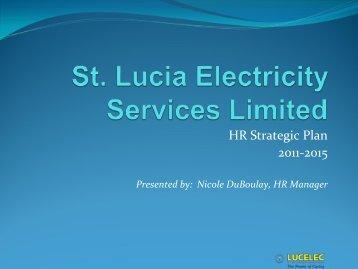HR Strategic Plan 2011-2015 - Carilec