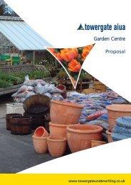 Garden Centre Insurance Proposal Form - Towergate Underwriting
