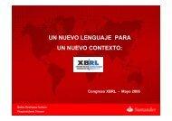 un nuevo lenguaje para un nuevo contexto - XBRL España
