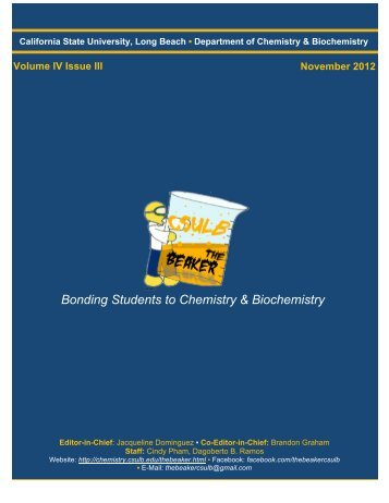 Volume 4, Issue 3 [November 2012 pdf] - California State University ...