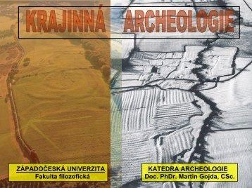 přednáška 12a - Katedra archeologie