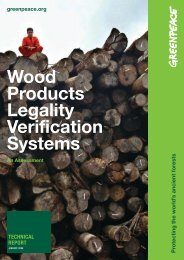 Wood Products Legality Verification Systems - Rainforest Alliance
