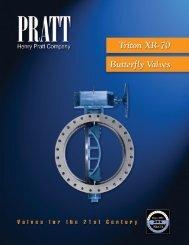 Triton XR-70 butterfly valve - Henry Pratt Company