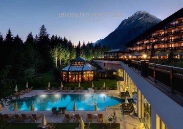 Der aktuelle Hotelprospekt vom Interalpen-Hotel Tyrol