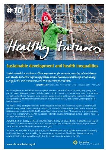 Sustainable development and health inequalities