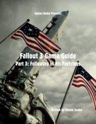 Fallout 3 Game Guide - Gamesradar