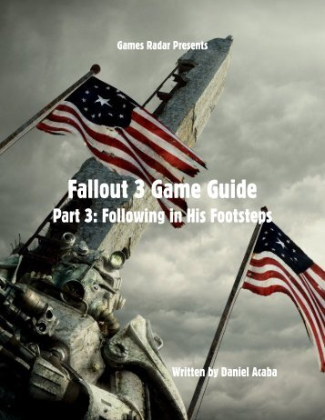 Fallout 3 Game Guide - Gamesradar