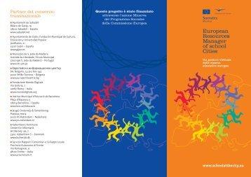 brochure del progetto - Fondazione Mondo Digitale