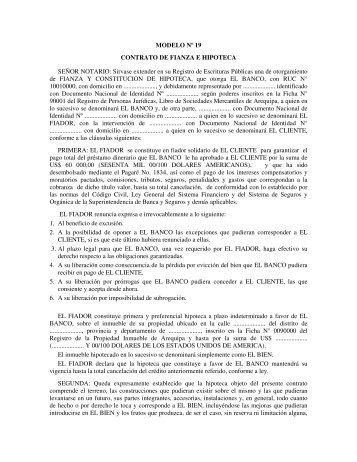 Contrato de fianza poder judicial del estado de guanajuato for Contrato de hipoteca