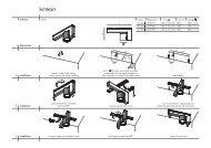 installation installation installation dimensions technics 1 2 3 ... - Kreon