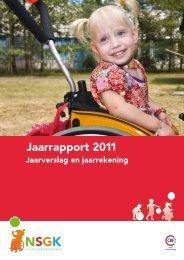 Jaarrapport 2011 - Nederlandse Stichting voor het Gehandicapte Kind
