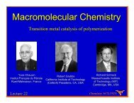 Lecture 22 - Willson Research Group