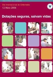 Dotações seguras, salvam vidas - Ordem dos Enfermeiros