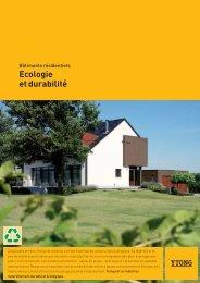 Ytong: écologie et durabilité - Xella
