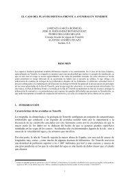 el caso del plan de defensa frente a avenidas en tenerife lorenzo ...