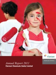 Annual Report 2011-Cover-final.indd - Clariant