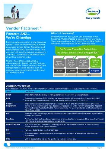 Vendor Factsheet 1_FBNZ_Direct_FINAL - Fonterra